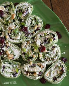 These easy to make Cranberry Walnut Pinwheels are sure to be a hit. Make a double recipe of these as an appetizer for your next party!