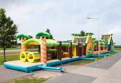 Inflatable Mega Obstacle Jungle 46.5M