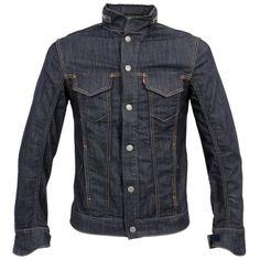 Urbnite: Levi& Commuter Trucker Jacket with hood Levi Denim Jacket, Denim Shirt, Chemises Western, Stylish Men, Men Casual, Mode Jeans, Mein Style, Raw Denim, Men's Denim