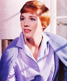 Julie Andrews!  Probably my second favorite actress.  Her acting is amazing!  I love how she portrays her characters!