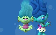 """Trolls - 3D Animation Movie Trailer Photos and wallpapers 