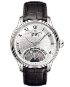 MP6358-SS001-11E Maurice Lacroix Jours Retrogrades - швейцарские мужские наручные часы - стальные, белые