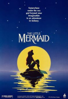 The Little Mermaid ~ one of my fave disney movies as a kid...and i still love it