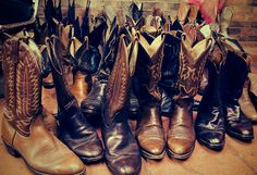 boots, boots, and more boots!