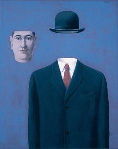 René Magritte - Artist XXè - Surrealism - The Pilgrim, 1966 Salvador Dali, Conceptual Art, Surreal Art, Rene Magritte Kunst, Artist Magritte, Albertina Wien, Magritte Paintings, Illustration Arte, Illustrations