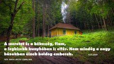 Wass Albert idézete a gazdagságról. A kép forrása: Magyarországi hegyvidékek