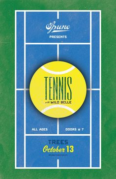 Tennis poster —Brandon Lesly