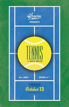 Tennis poster — Brandon Lesly