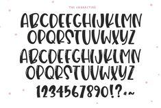 Ice Cream Font Fun Handwritten Font Fonts for Cricut
