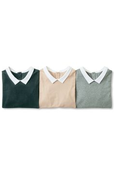 Colored shirts like this for women are perfect for the office: feminine and… Casual Outfits, Cute Outfits, Fashion Outfits, Womens Fashion, Modern Tops, Street Style, Textiles, Mode Style, Her Style