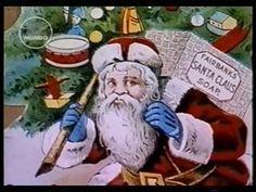 Papai Noel Vendendo Sabão.