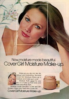 70s Makeup, Retro Makeup, Vintage Advertisements, Vintage Ads, Covergirl Eyeshadow, Cover Girl Makeup, Cosmetics & Fragrance, Beauty Ad, Beauty Products