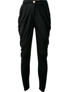BALMAIN Draped Trouser