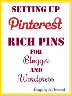 Setting Up Pinterest Rich Pins for Wordpress and Blogger | Super easy tutorial!