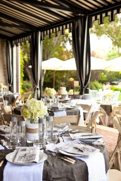 Classic and elegant setting.