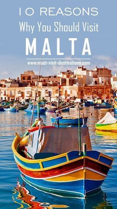Outdoor travel families TOP 10 Reasons Why You Should Visit Malta. Malta Travel Guide, Travel Guides, Travel Tips, Cool Places To Visit, Places To Travel, Travel Destinations, Where Is Malta, Malta Holiday, Malta Beaches