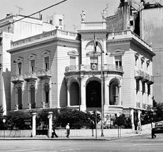 The Mansion Stathatos, Athens, Greece | Ernst Ziller (1837-1923)