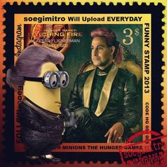 Hunger Games Catching Fire - Caesar Flickerman Minion