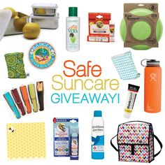 What You Need for Safe Suncare this Summer + a Giveaway and Special Offer! #MightyNest #100DaysofRealFood #Sunscreen