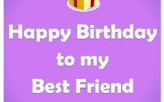 An amazing collection with happy birthday images, cards, birthday wishes for best friends and creative ideas for wishing your best friend happy birthday. Birthday Wishes Best Friend, My Best Friend's Birthday, Birthday Wishes And Images, Happy Birthday Quotes, Happy Birthday Me, Your Best Friend, Best Friends, Greeting Card Sentiments, Wish Quotes