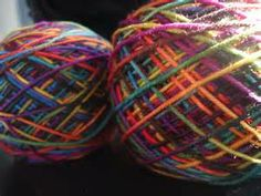 Yellow SPARKLE NYLON YARN by Ice Yarns 50 gram Ball. Yarn no.9120