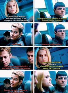 This scene >> How jealous Spock looked was hilarious!