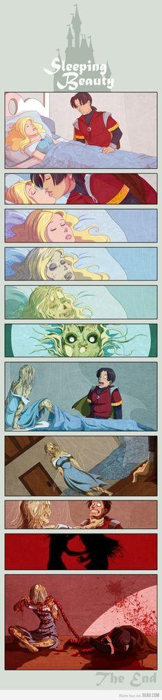 The Sleeping Dead Beauty! <3 <3