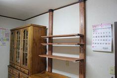 ハル ユメ Diary:キッチン棚をディアウォールで