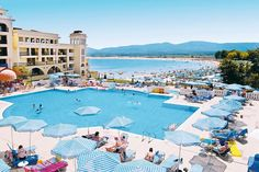 Hotel Marina Royal Palace***** #dovolena #bulharsko #djuni Royal Palace, Dolores Park, Tours, Travel, Viajes, Trips, Traveling, Tourism, Vacations