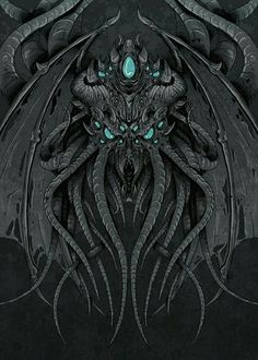 """Cthulhu by Alexis """"Icy Bomb"""" Ge'rard"""