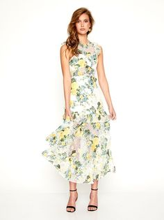 Lovely Dresses, Dresses For Work, Alice Mccall, Dress Silhouette, Occasion Wear, Floral Motif, Summer Wedding, Vintage Inspired, Pretty