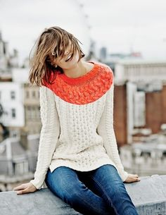 Longer Line Cable Sweater