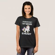 Kid's Unicorn Back to School 1st Grade T-Shirt - back to school outfits style gift idea customize