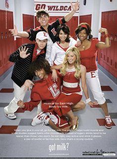 High School Musical -Ashley Chad Taylor Ryan Gabriella and  Troy