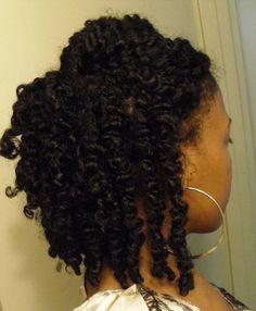 Natural hair style ❤