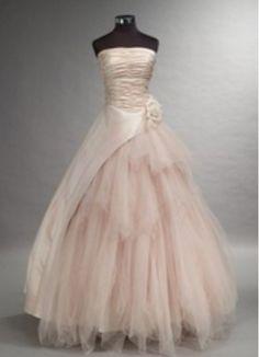 Ballet wedding gown