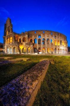 The Colloseum, Rome, Italy