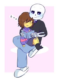 sans bein that uncle who's cool but in like a lame way