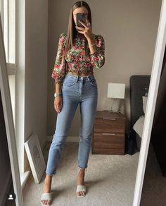 Cute Casual Outfits, Chic Outfits, Casual Chic, Spring Outfits, Fashion Outfits, Womens Fashion, Mode Outfits, New Outfits, Looks Jeans