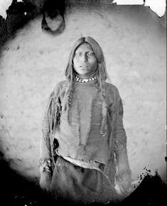 Son of Vincenti. Jicarilla Apache. 1871