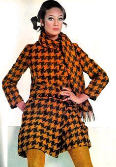 Marisa Berenson in Mario Forte for Handmacher, 1967