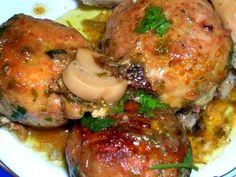 recette de cuisine tajine de boulettes de poulet