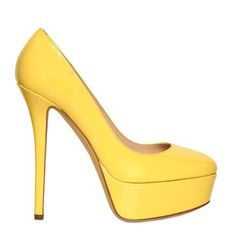 74.10$  Buy here - http://alipuu.worldwells.pw/go.php?t=32332851335 - Candy Color Fashion Closed Round Toe Patent Leather Women Shoes Ever After High Pumps Custom Made Thin High Heels Lady Yellow R