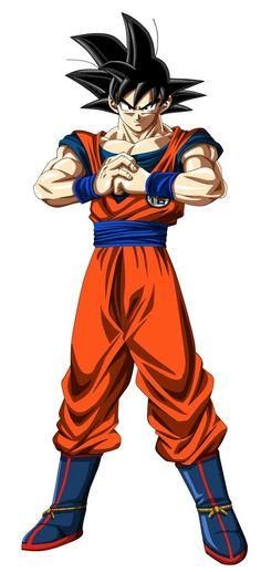 Goku ready for the tournament(manga colorised)