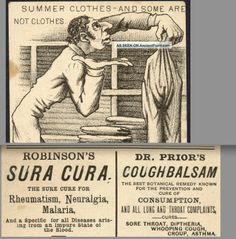 1880 ' S Jewish Malaria Cure Dr Prior Consumption Cough Botanical Remedy Lung Card