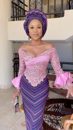African Lace Dresses, African Clothes, African Dresses For Women, African Attire, Aso Ebi Lace Styles, Kente Styles, African Print Fashion, African Prints, African Style