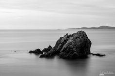 Seastacks, Rosario Head, Deception Pass State Park, Washington, 2015   #blackandwhite #photography #seascape