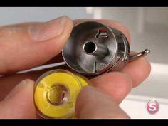 SINGER® Front Load Bobbin Case Threading & Insertion Tutorial Information on how to properly insert a bobbin into a SINGER sewing machine with a front-load style bobbin system. Sewing Tools, Sewing Hacks, Sewing Tutorials, Sewing Crafts, Sewing Projects, Craft Projects, Video Tutorials, Diy Crafts, Brother Sewing Machines