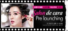 Sandara Park features the pre-launch of Clio's Salon de Cara Mascara! #Clubclio #clubcliousa #salondemascara #sandara #dara #2ne1 #prelaunch #newproduct #mascara #beauty #makeuptips #clio