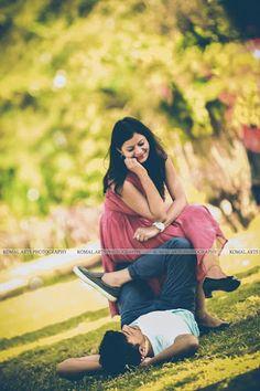 "Komal Art ""Portfolio"" Love Story Shot - Bride and Groom in a Nice Outfits. Best Locations WeddingNet #weddingnet #indianwedding #lovestory #photoshoot #inspiration #couple #love #destination #location #lovely #places"